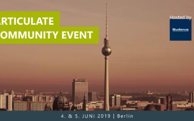 Articulate Community Event 2019 im Juni in Berlin