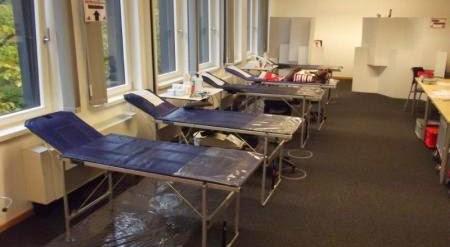 Interlake bei der DRK Blutspende