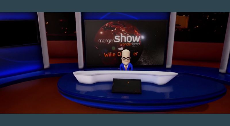 Wonderlamps Morgen Show