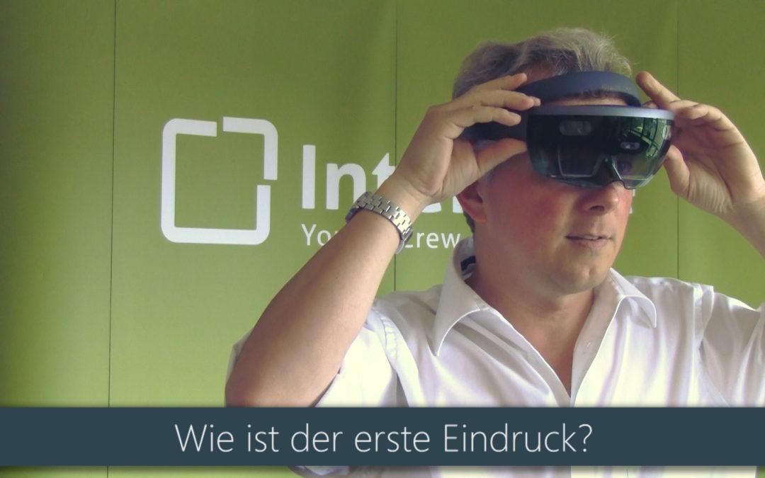 Die HoloLens ist da! Teil 1: Der erste Eindruck