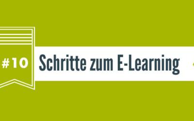 In 10 Schritten zum E-Learning