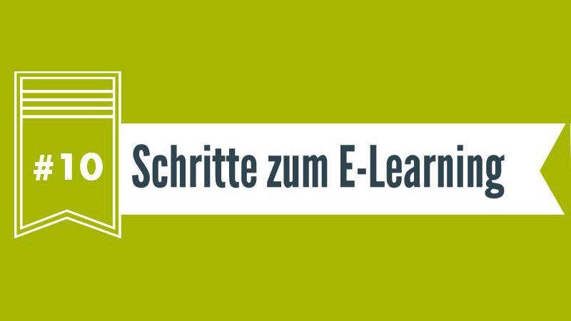 Checkliste 10 Schritte zum E-Learning