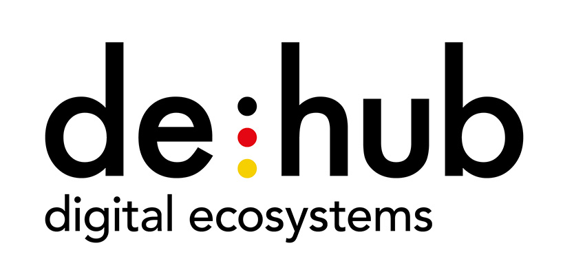 de-hub Logo der Initiative MediaTech Hub
