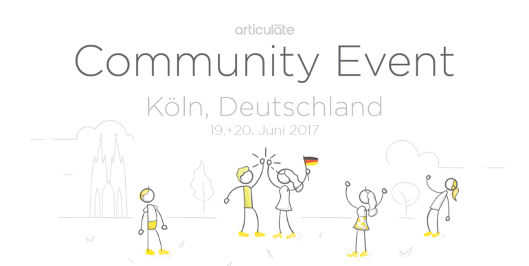 Interlake@ Articulate Community Event Köln im Juni 2017