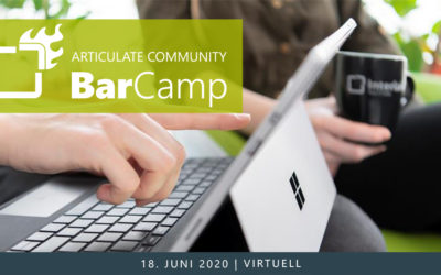 Articulate Community BarCamp 2020