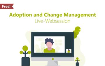Illustration Person abgebildet auf Monitor