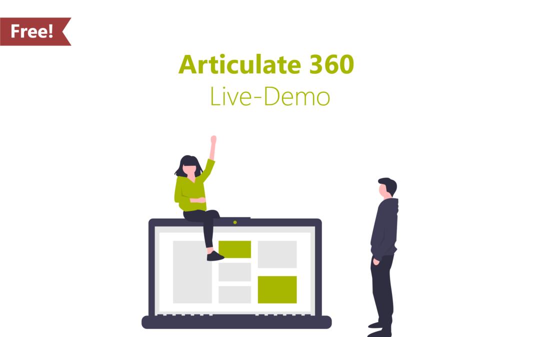 Articulate 360 Live Demo