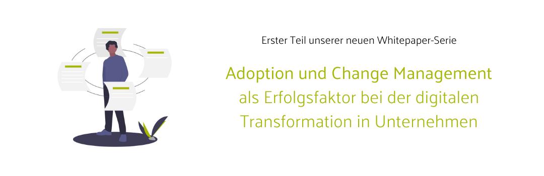 Titelbild Whitepaper Change Management im digitalen Wandel