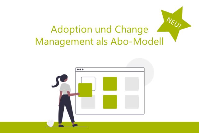 Digitaler Wandel für KMUs vereinfacht – Adoption und Change Management im Abo-Modell