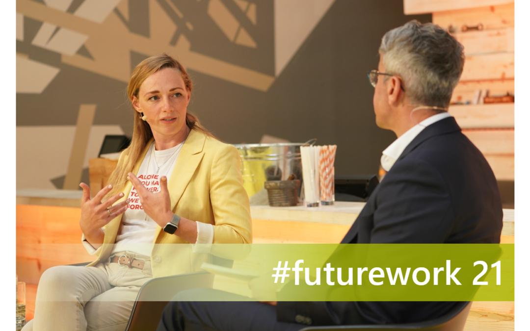 Future Work –  #futurework21 – Das Festival der neuen Arbeitswelt