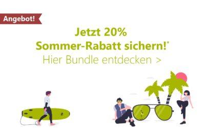 Sommer-Angebot! 20% Rabatt auf das Summer School Articulate-Training beim Kauf einer Articulate-Lizenz
