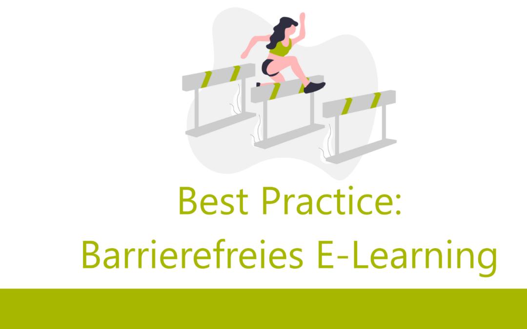 Barrierefreies E-Learning für Menschen mit Sehbeeinträchtigung