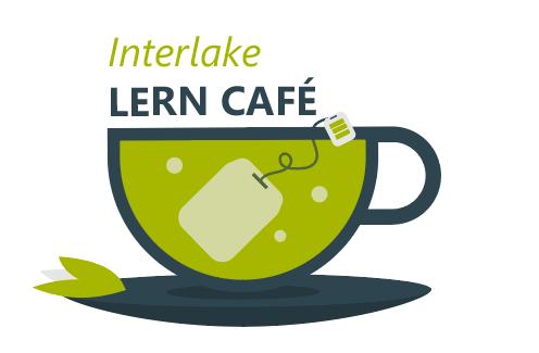 Bild Tasse mit Text Interlake Lern Café