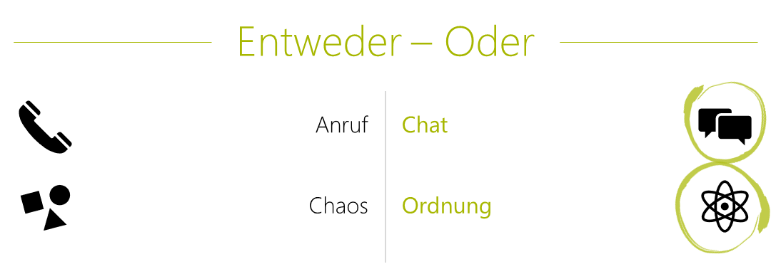 Nadine Either Or Chat and Order