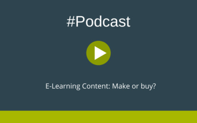 Podcast E-Learning Content: Make or buy?